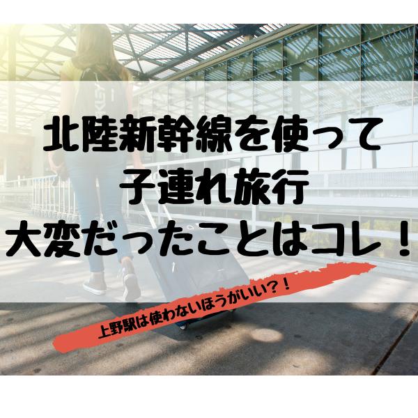 北陸新幹線大変上野駅