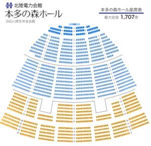 本多の森座席表
